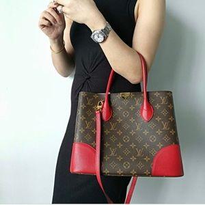 ❤️🤎Discontinued Louis Vuitton Flandrin Monogram in Cerise Bag